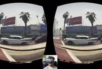 GTA V Sanal Gerçeklik Cihazı Oculus Rift'te Test Edildi