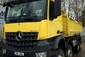 ETS 2'de Damperli Kamyon: Mercedes-Benz Yeni Arocs Ses Kaydı Alınıyor!