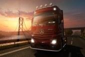 Mercedes-Benz Twitter Sayfasından: ETS 2 Yeni Actros Görüntüleri
