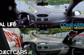 Project CARS vs Gerçek Hayat – Renault Megane S [Karşılaştırma]