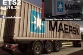 ETS 2 Mod – Sommer Maersk Konteyner Dorse