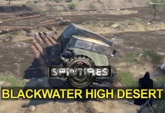 Video: Spin Tires Blackwater High Desert Haritası