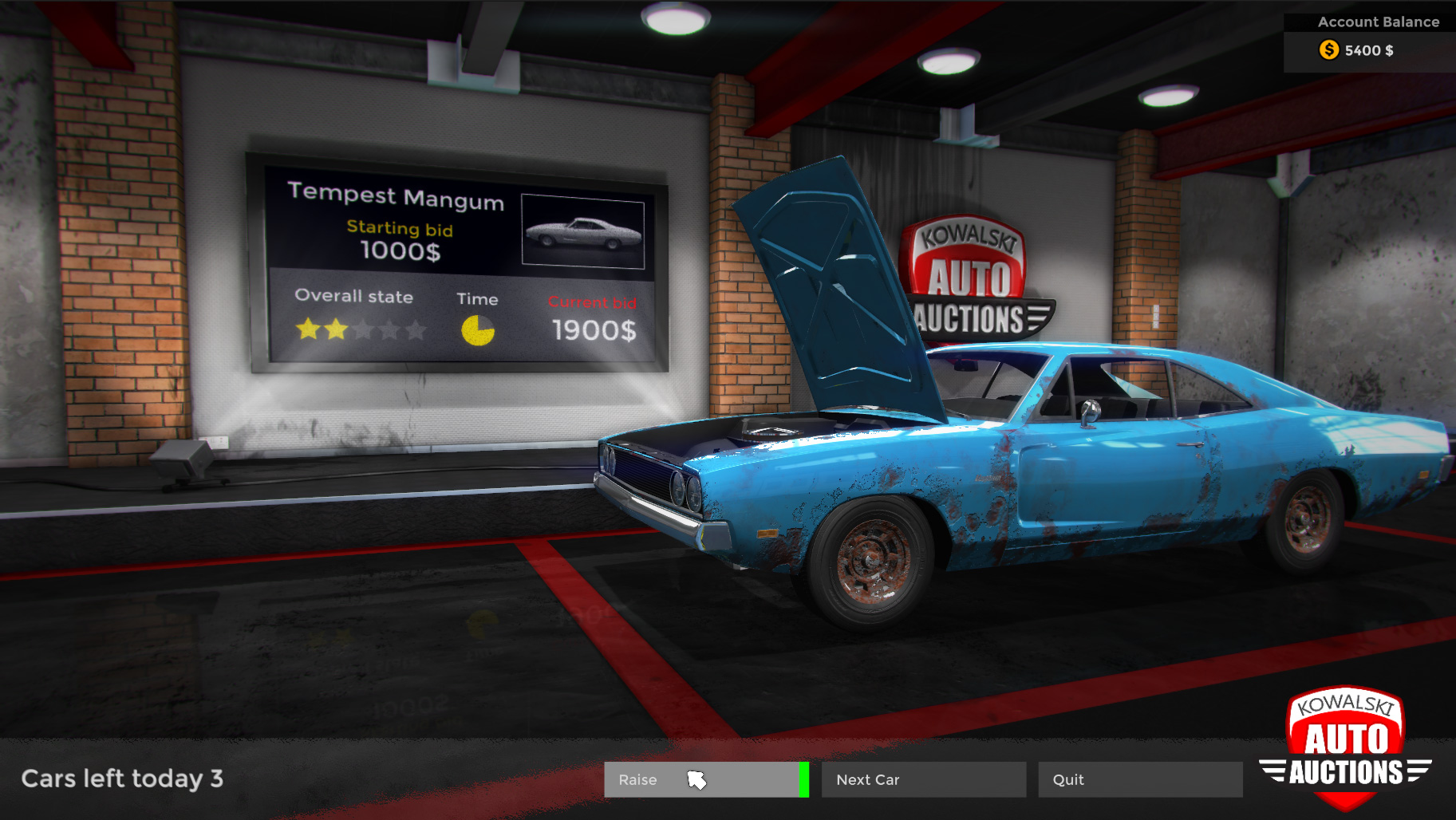 Muscle Cars Games Pc