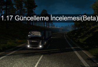 Euro Truck Simulator 2 v1.17 Güncellemesi (Video)