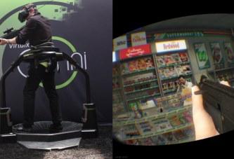 GTA 5 PC Sanal Gerçeklik Cihazıyla Denendi! (Virtuix Omni)