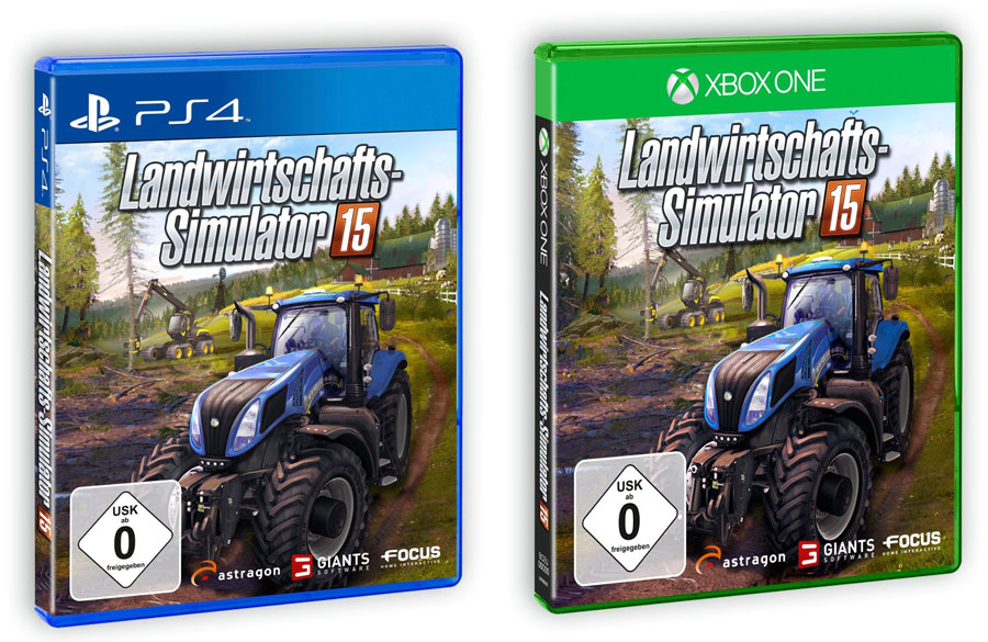 ps4 xbox one farming simulator 15. Black Bedroom Furniture Sets. Home Design Ideas