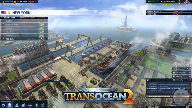 Nisan ayında paylaşılan TransOcean 2 görseli