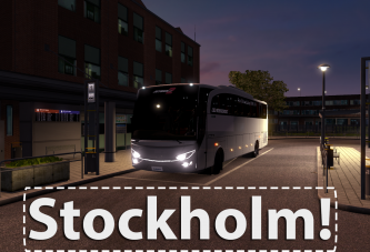 Video: ETS 2 İskandinavya Stockholm Otobüs Seferi