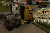 ETS 2 Multiplayer 0.1.8 Alpha