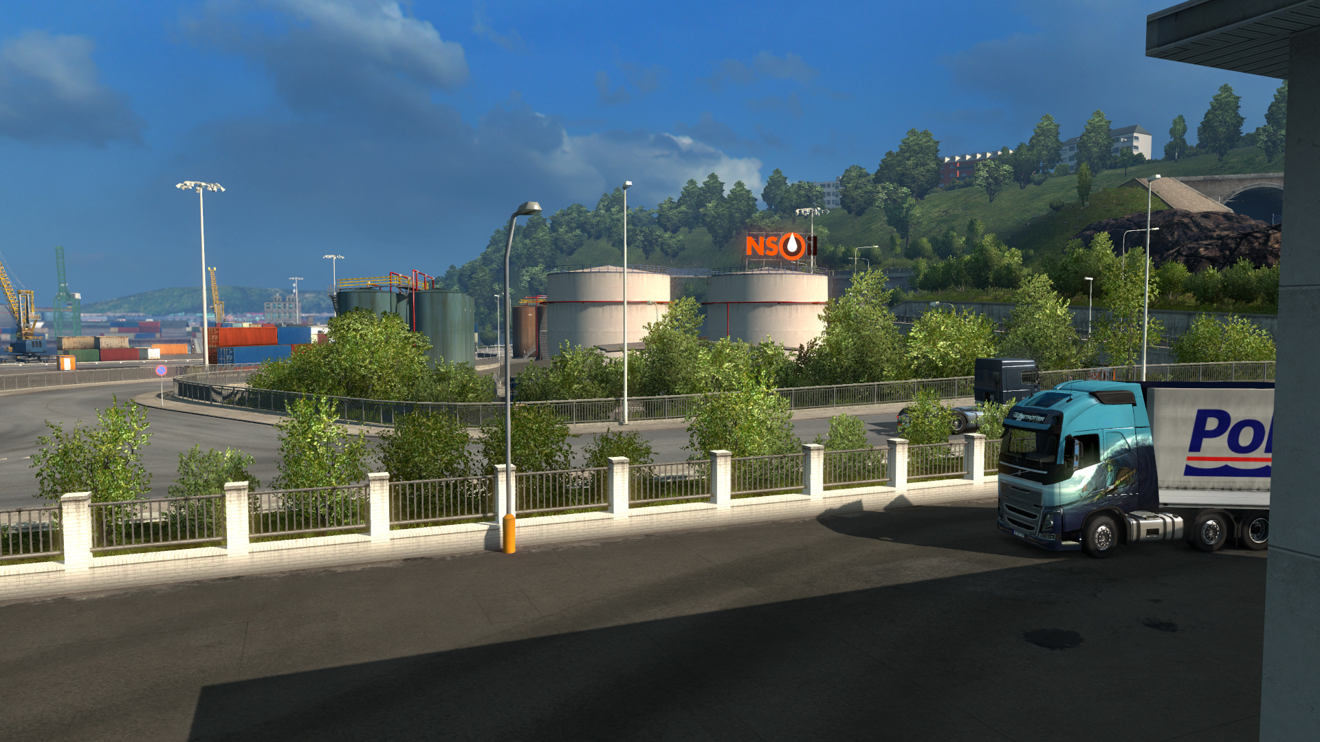 euro truck simulator 2 scandinavia dlc 8 sim lasyon t rk. Black Bedroom Furniture Sets. Home Design Ideas