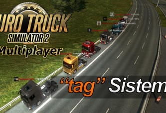 "ETS 2 Multiplayer ""tag"" Sistemi [Video]"