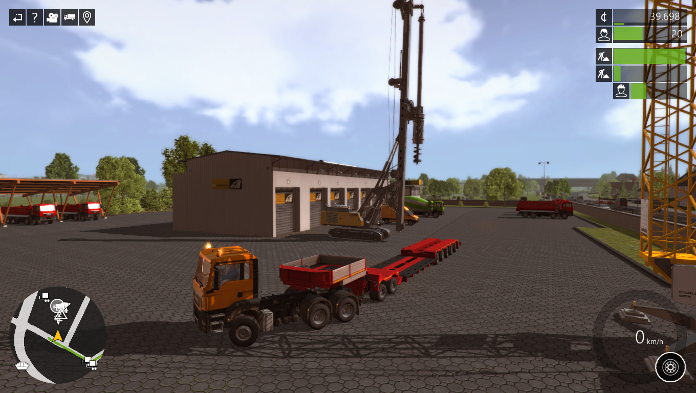 Construction simulator 2015 liebherr lb28 dlc video for House building simulator online