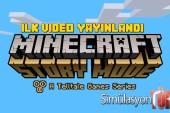 Minecraft Story Modundan İlk Video paylaşıldı