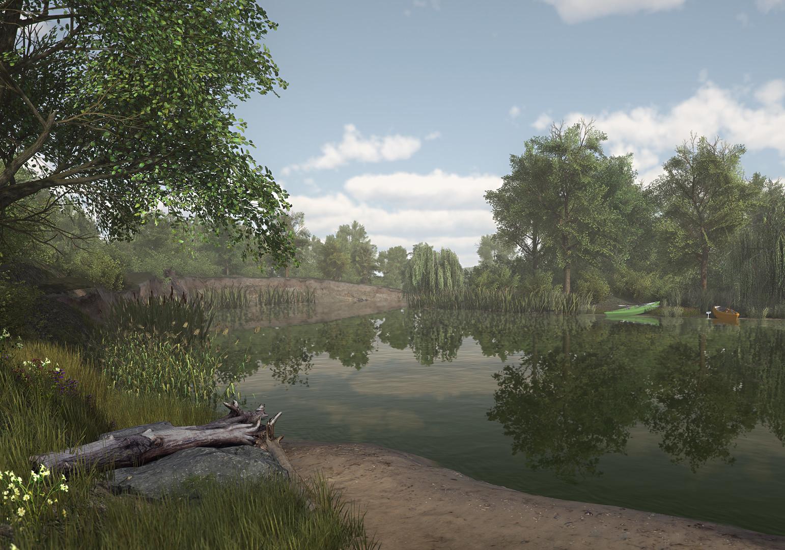 Bal k l k sim lasyonu fishing planet for Virtual reality fishing