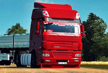 Euro Truck Simulator 2 Kırmızı Şeytan DAF CF