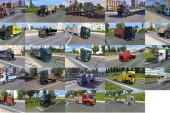 Euro Truck Simulator 2 AI Kamyon Trafik Paketi v2.0 by Jazzycat