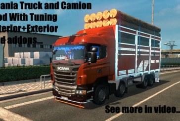 ETS 2 Scania Kırkayak Kamyon ve Çekici Modu