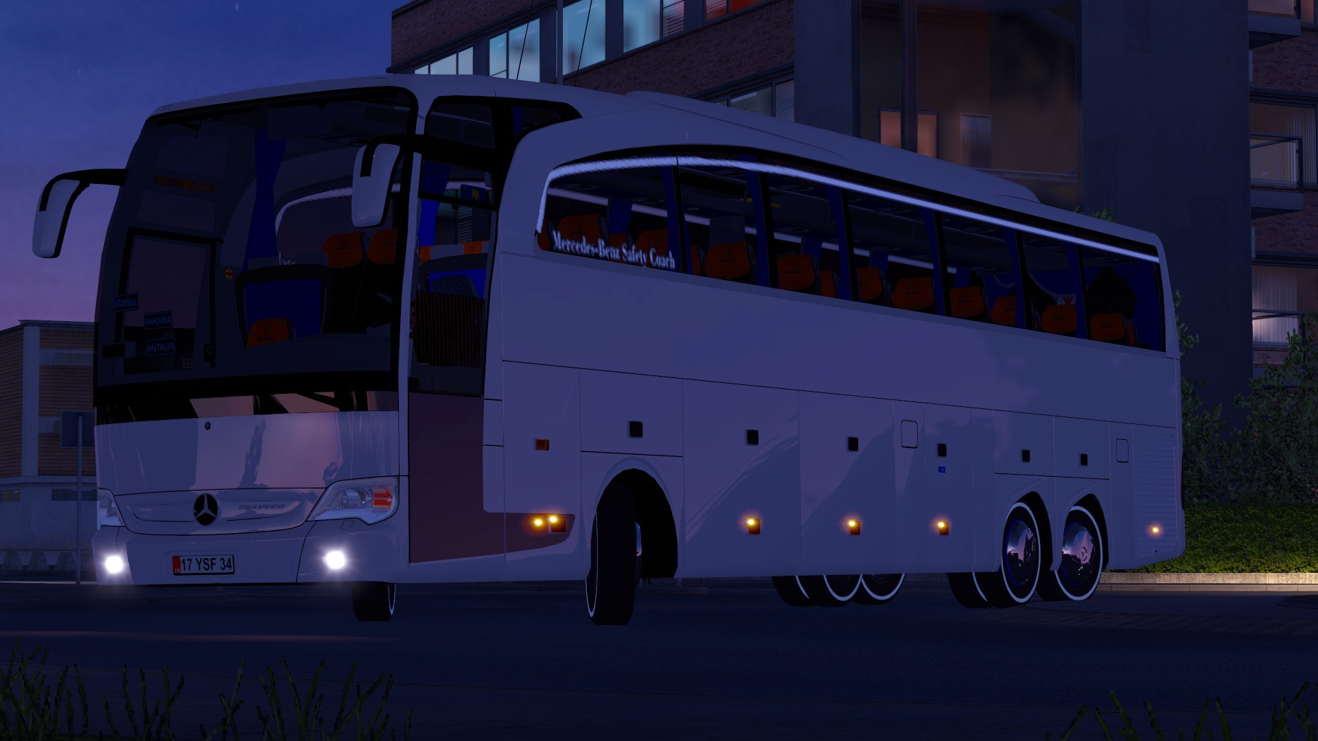 Euro truck simulator 2 mercedes benz travego 15 17 shd v4 for Mercedes benz euro