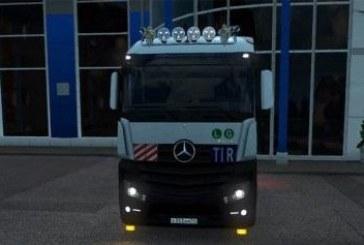 ETS 2 Mercedes-Benz Actros Mega Space 4