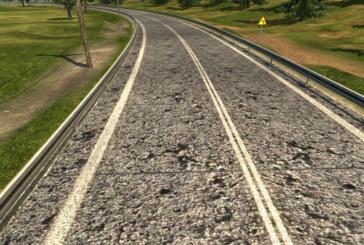 Euro Truck Simulator 2 Yeni Asfalt Yol Dokuları v1