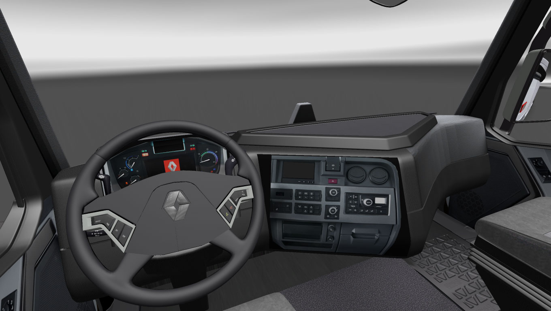 Euro truck simulator 2 renault range t mod ncelemesi for Renault range t interieur