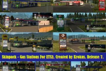 Euro Truck Simulator 2 Gerçek Petrol İstasyonları [1.21.x]