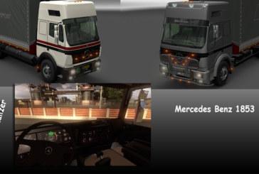 Euro Truck Simulator 2 Mercedes-Benz 1853 Modu