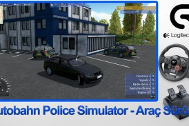 Autobahn Police Simulator: Araç Sürüşü – Logitech Driving Force GT
