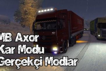 Euro Truck Simulator 2 Karlı Kış Modu v2 + Gerçekçi Modlar