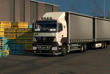 Euro Truck Simulator 2 Mercedes-Benz Axor + Türk İşi Modifiye!