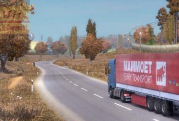 """Euro Truck Simulator 2 Grafik ve Çevre Modu """"Sonbahar Geliyor v1"""""""