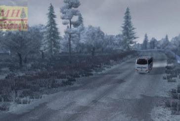Euro Truck Simulator 2 – Karlı Kış Modu v3 (Winter is Coming v3)