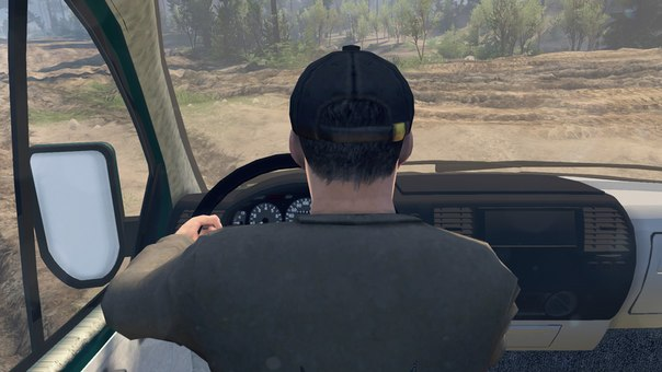 Скачать мод грузовик КамАЗ-43101 для Spin Tires v