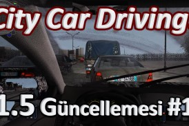City Car Driving v1.5 Güncelleme İncelemesi #1 (Video)