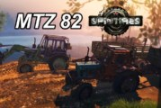 Spin Tires MTZ 82 Traktör Modları (Video)