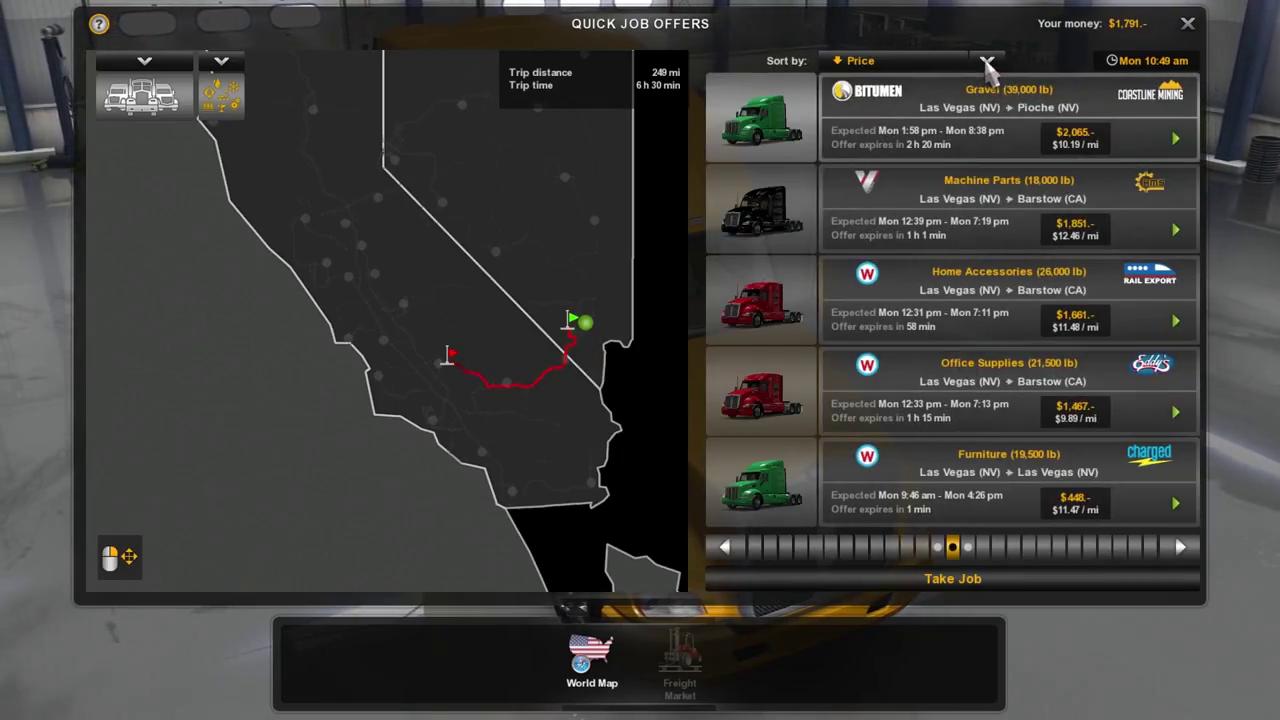 American Truck Simulator Oynanış Videosu Sızdırıldı (Beta)