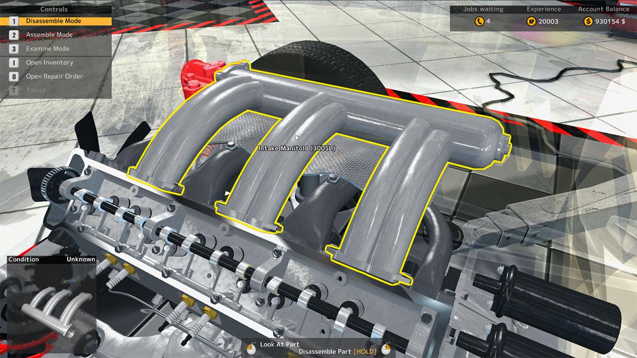 Car mechanic simulator 2015 mercedes benz steam 9 for Mercedes benz technician