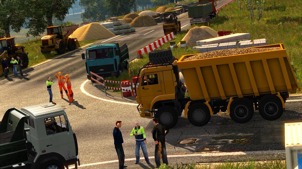 Scania truck driver simulator