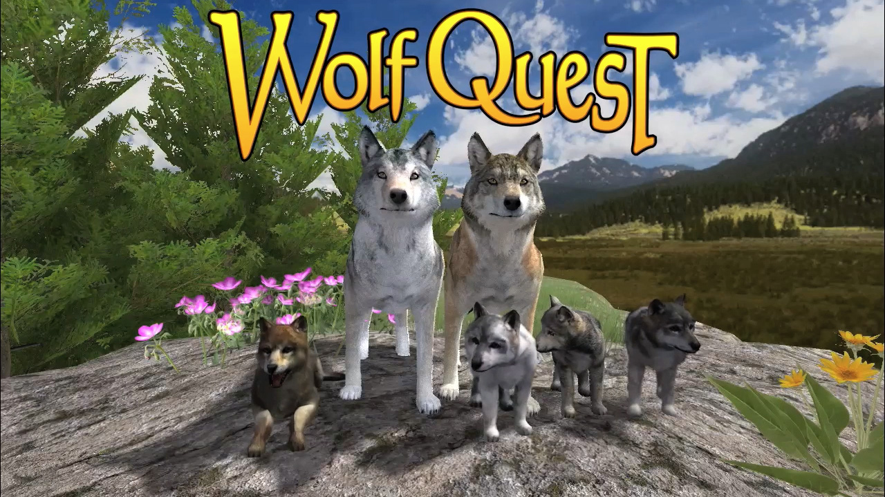 wolf quest online game