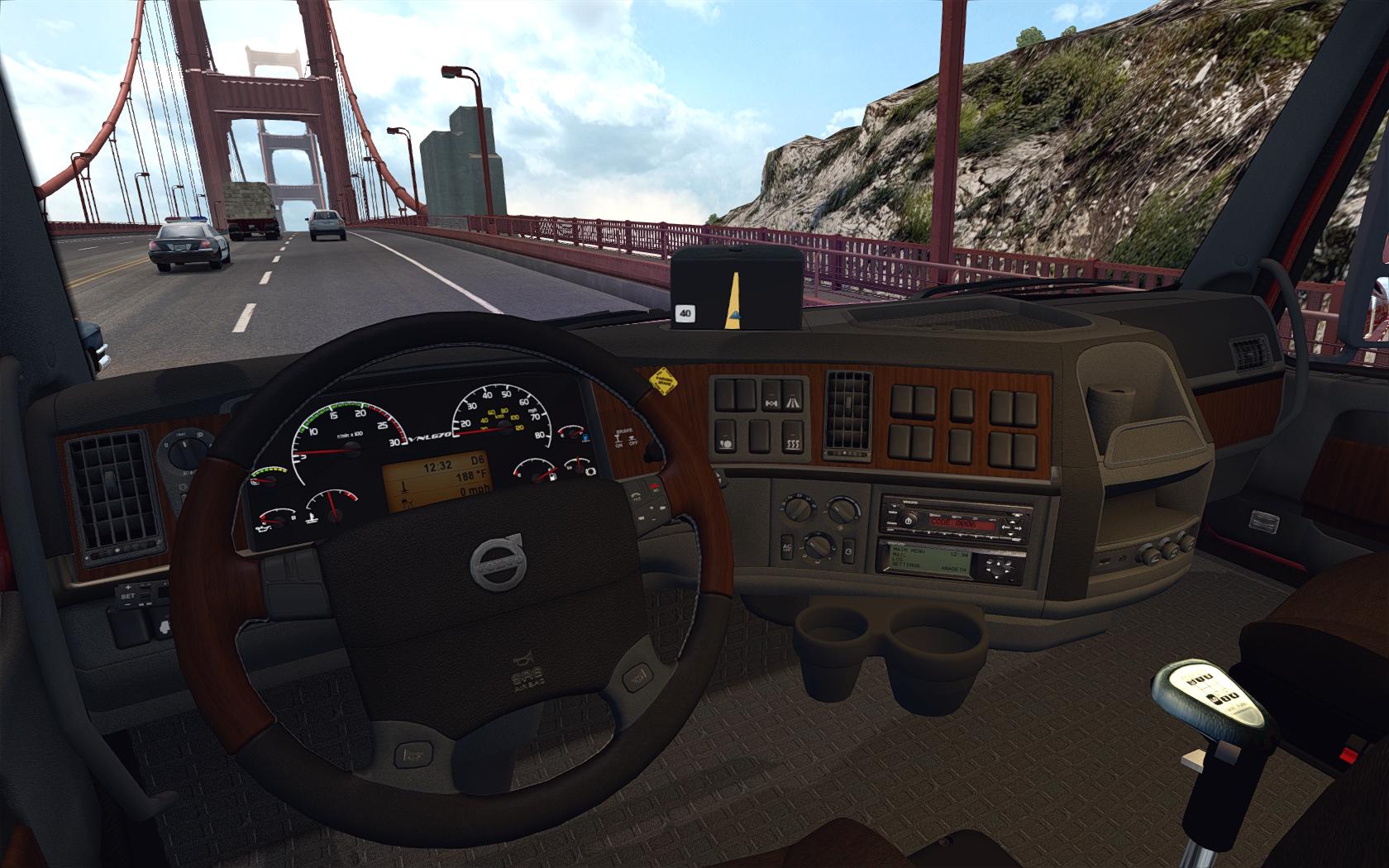 American Truck Simulator VOLVO VNL 670 (aradeth)3