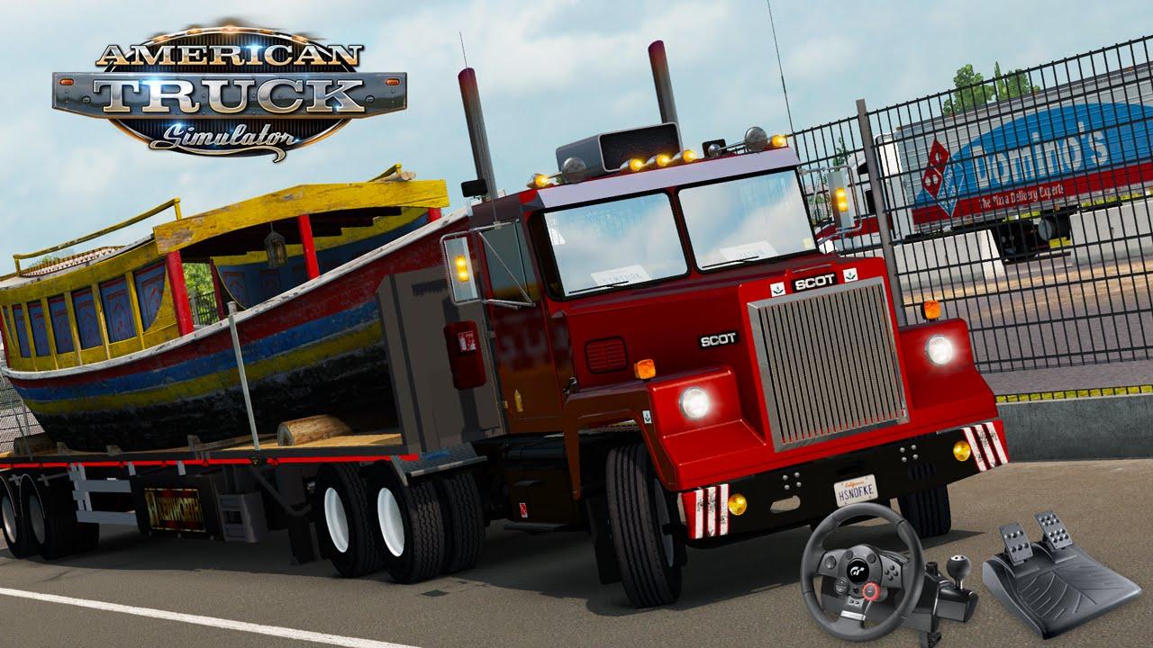 Car Mechanic Simulator 2019 >> Scot A2HD - Yeni Şehirler (American Truck Simulator)