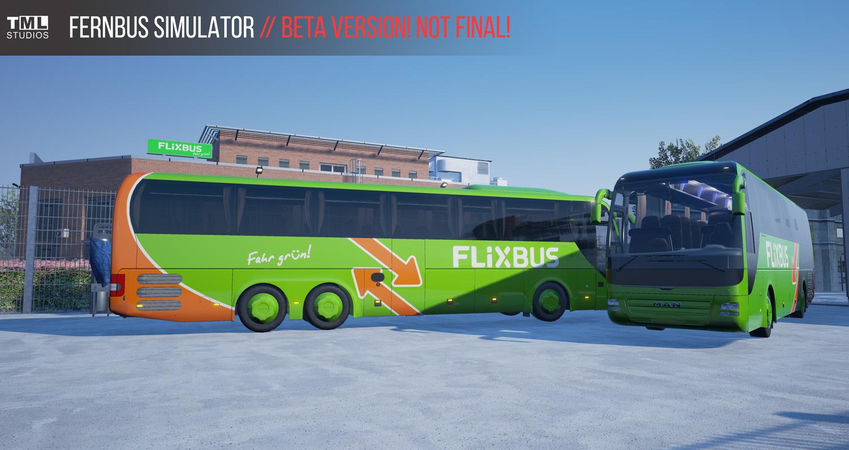 fernbus simulator flixbus logosu otob slere eklendi. Black Bedroom Furniture Sets. Home Design Ideas