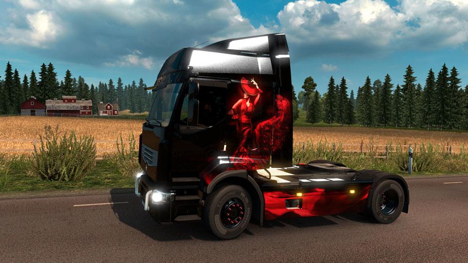 Euro Truck Simulator  Paint Jobs