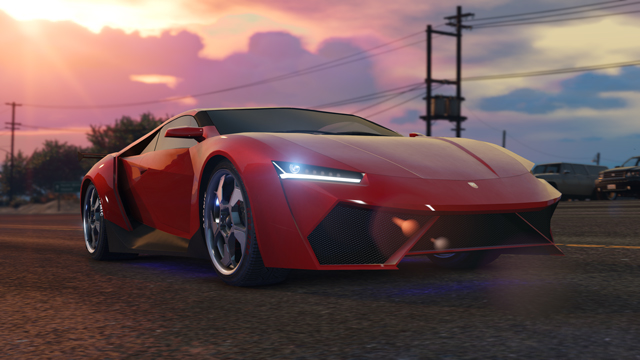 Yeni araba: The Pegassi Reaper