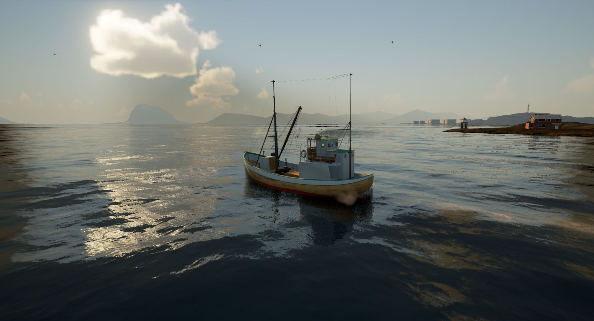 Bal K L K Sim Lasyonu Fishing Barents Sea