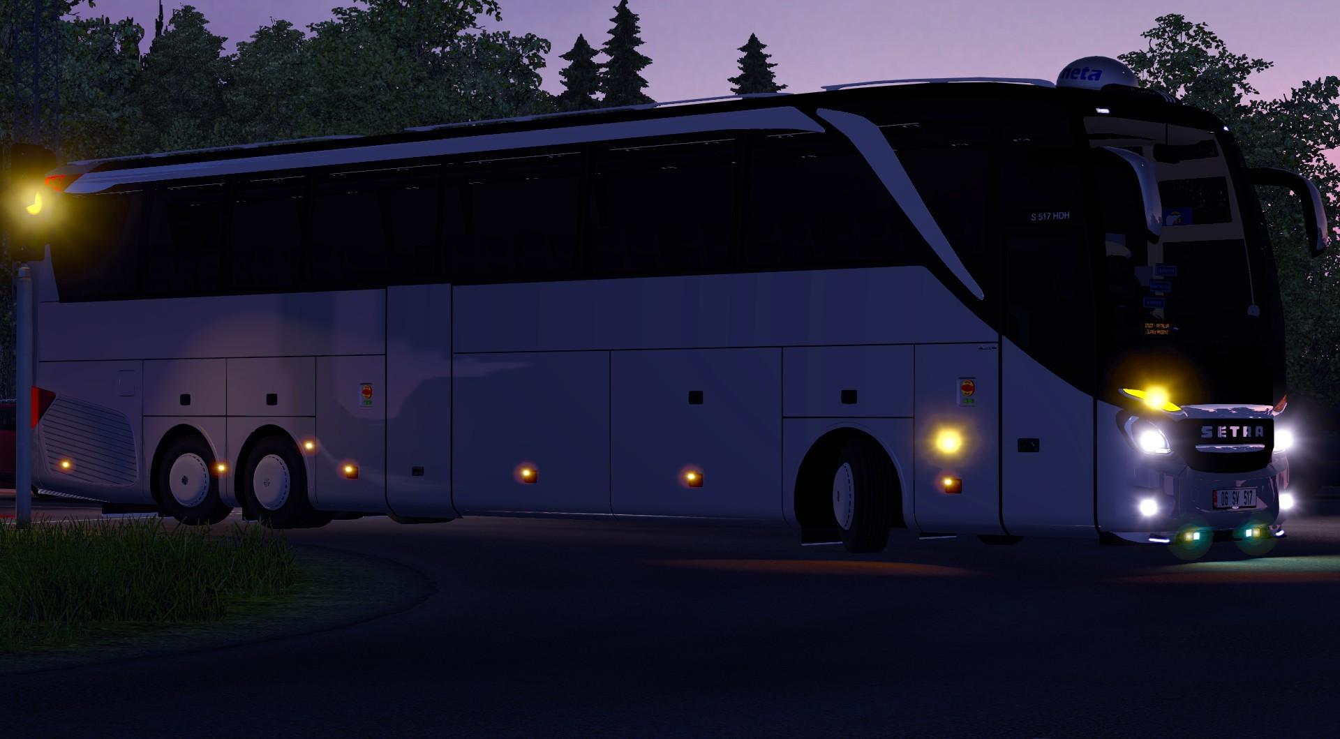 Euro Truck Simulator 2 - SETRA S 517 HD Otobüs Modu