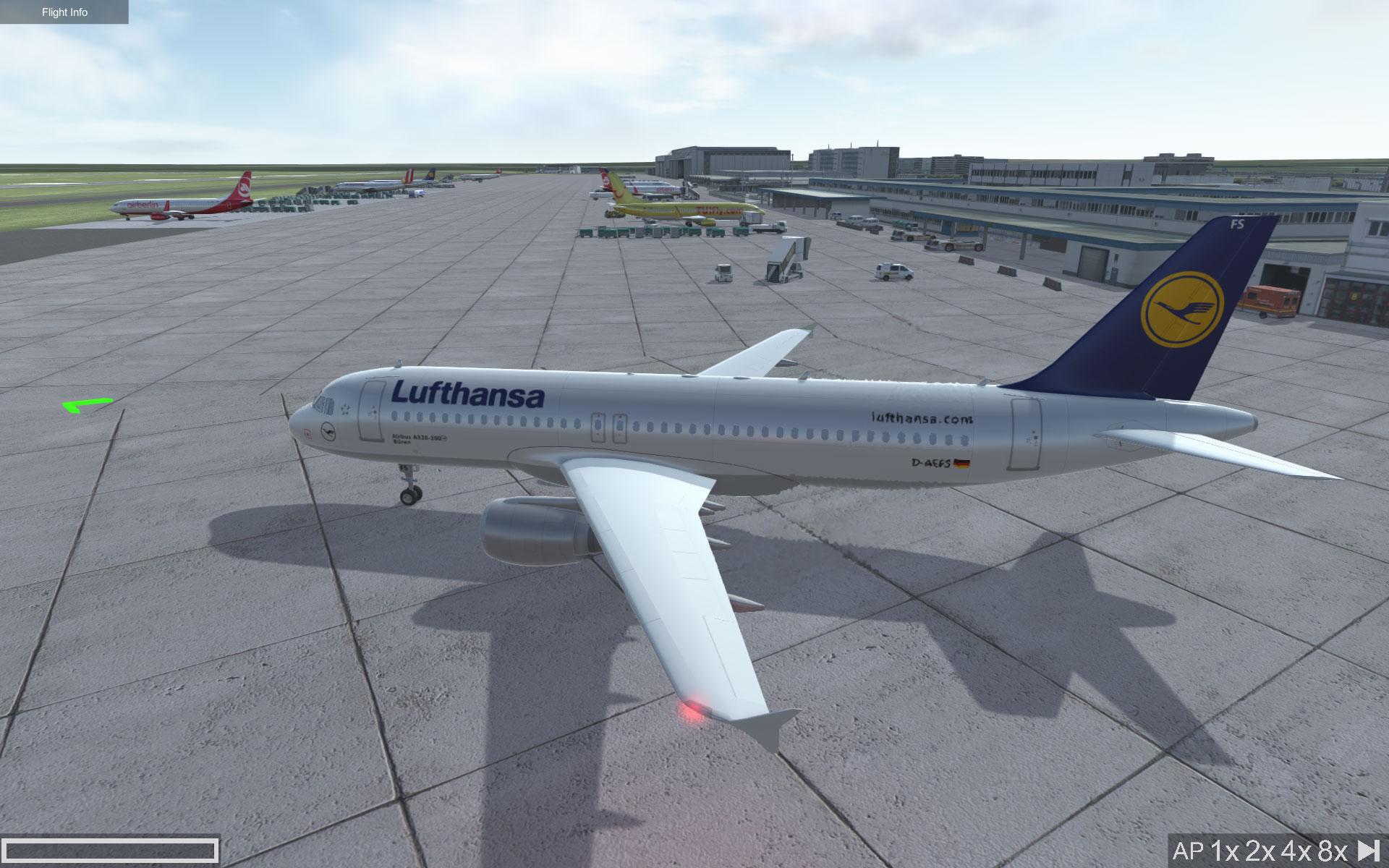 Flugzeug Simulator