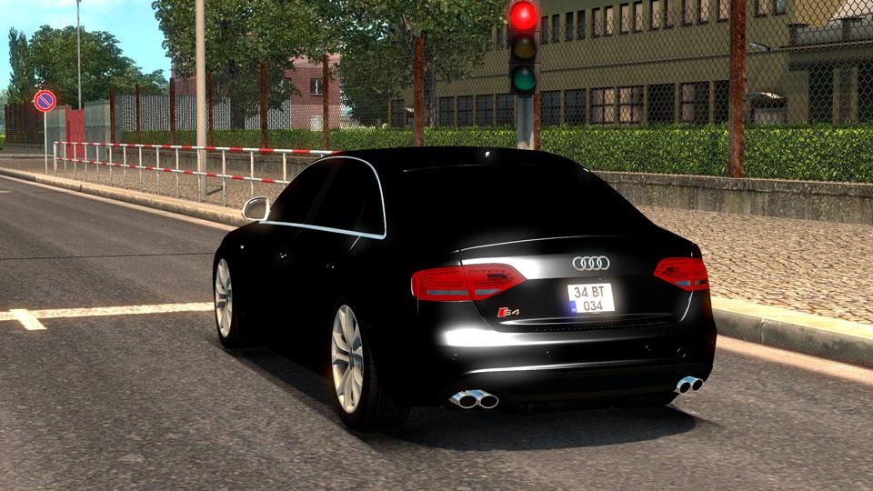 euro truck simulator 2 audi s4 araba modu (buraktuna24)