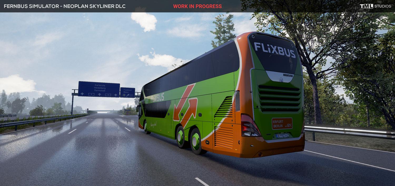 fernbus simulator neoplan skyliner otob s nden yeni ekran. Black Bedroom Furniture Sets. Home Design Ideas