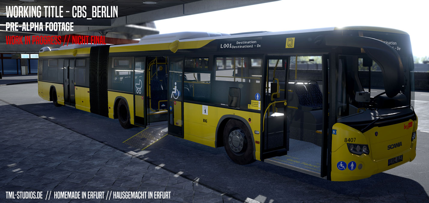 city bus simulator berlin scania citywide ekran g r nt leri. Black Bedroom Furniture Sets. Home Design Ideas
